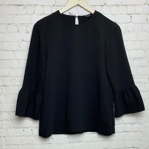 Madewell Bell Sleeve Blouse Small